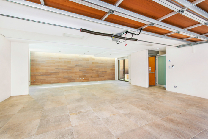 wooden garage flooring